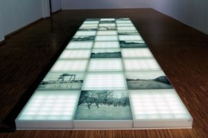 clean shining pure, 33 light boxes, 1999