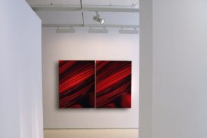 red 01|02, edition 03, aluminium dibond with diasec face, gallery kashya hildebrand, new york, 2005