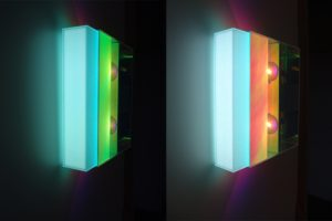light block, plexiglas radiant led-licht farbwechsel, 2011
