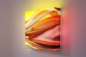 light block, dia in plexiglas led-licht, galerie bernd a. lausberg, toronto, 2010