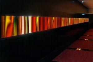 light and colour, leuchtkasten laserchrome grossdiapositiv auf plexiglas glas, hotel maximilian nürnberg, 2007