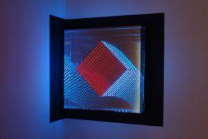 tunnel view 'diamond', plexiglas spiegel led farbwechsel, design miami basel, 2012