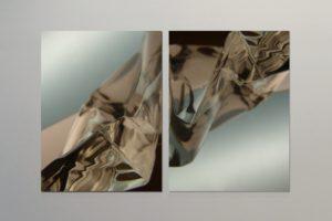 cliffs, auflage 3+1 ap, laserchrome auf aluminium-dibond mit diasec face, 2010