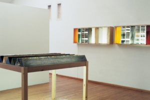 tagebuch, mixed media, galerie hofmeisterhaus, 1997