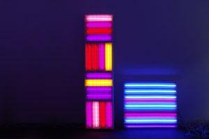 replaced, 4 rasterleuchten 16 leuchtstoffröhren wandfarbe und kontaktunterbrecher, 2009