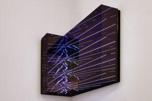 angle view, led's computergesteuert metall plexiglas spiegel, 2015