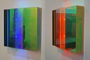 light block, dia plexiglas radiant led-licht farbwechsel, design miami basel, 2010