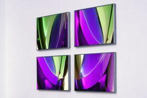 light and colour, laserchrome gerahmt, 2001