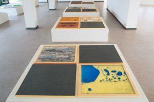 memory, 40 teile mixed media, stadtmuseum waldkraiburg, 1995
