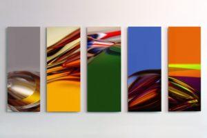 chromatic plants, auflage 3+1 ap, aluminium-dibond mit diasec face, patrick heide contemporary art, london, 2009