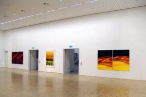 red + shift + schwarz rot gold, edition 03, laserchrome auf aluminium-dibond mit diasec face, berlinische galerie mit spectral, berlin, 2005