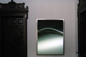 blade, leuchtkasten edelstahl laserchrome grossdiapositiv plexiglas, galerie grazia blumberg, recklinghausen, 2010