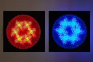 interference, plexiglas spiegel led farbwechsel, design miami basel, 2012