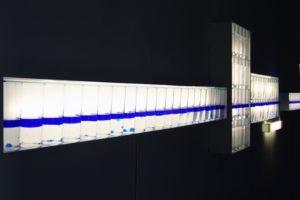 sensitive balance (detailansicht), gläser silikonöl blau wasser metal, neuer kunstverein aschaffenburg, best before.... 2007